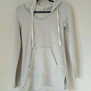 James Perse Standard striped hoodie sweatshirt